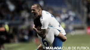 Un Málaga goleador