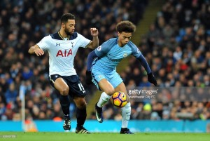 Manchester City vs Tottenham Hotspur Live Score Commentary in Premier League 2017