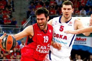 Un correoso Caja Laboral cae derrotado contra un sólido CSKA