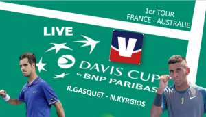 Live Richard Gasquet - Nick Kyrgios en direct [Coupe Davis]