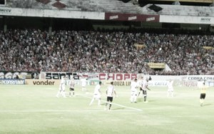 Pecando nas finalizações, Santa Cruz e Luverdense empatam sem gols no Arruda