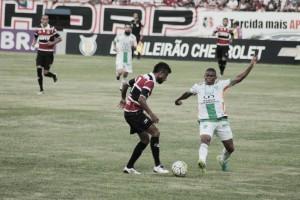 """Léo Moura e Adriano elogiam torcida do Santa Cruz contra o América: """"Nosso combustível"""""""