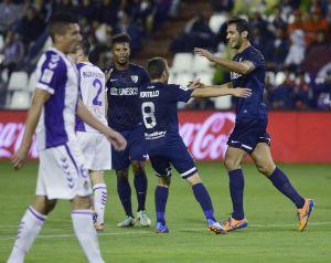 Valladolid - Málaga: puntuaciones del Málaga, jornada 7