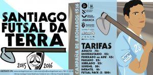 """Santiago Futsal """"da Terra"""" 2015/2016"""