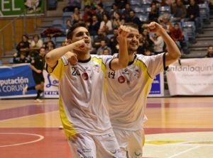 Tercera victoria consecutiva para Santiago Futsal