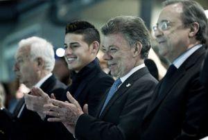 James Rodríguez participará en un foro sobre el fútbol y la paz, en Cartagena