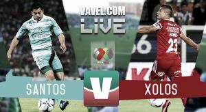 Resultado y goles del Xolos de Tijuana 1-1 Santos en Liga MX 2017