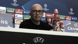 """Sampaoli: """"Quiero que el equipo no cambie la forma de juego"""""""