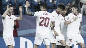 Jamie Vardy deja abierta la eliminatoria ante un superior Sevilla