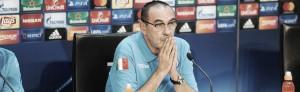"""Maurizio Sarri: """"Tenemos que empezar a jugar un fútbol más despreocupado"""""""