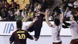 La mano del Barça: quinta consecutiva ante Naturhouse y a las puertas de la quinta Liga consecutiva