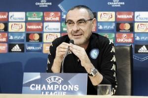 """Maurizio Sarri: """"Nos va a hacer falta seriedad y concentración"""""""