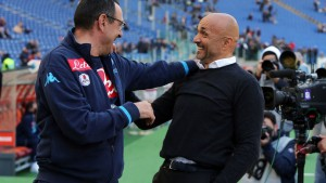 """Napoli-Inter, il """"Sarrismo"""" insidia il trono spallettiano"""