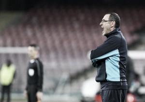 """Revoltado, Sarri critica postura do Napoli após derrota: """"Parece que jogamos por obrigação"""""""