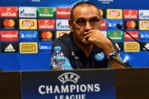 """Champions League - Napoli, Sarri non si tira indietro: """"In campo per comandare il gioco, è la nostra mentalità"""""""