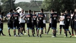 """Napoli - Inter, Sarri: """"Inter forte e solida. Gabbiadini e Mertens? Non so se giocano"""""""