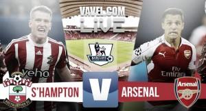 Live Southampton - Arsenal, diretta Premier League 2015/2016 (4-0): Long firma il poker per i Saints
