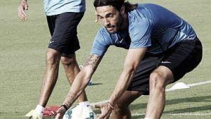 Sergio Sánchez vuelve a entrenarse con el grupo