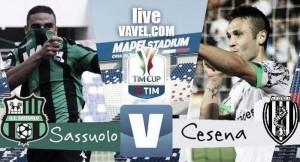 Risultato Sassuolo 1-2 Cesena in Coppa Italia 2016/17: Pellegrini, poi Ciano e Laribi per la qualificazione