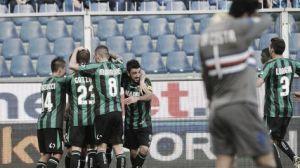 Berardi destroza a la Sampdoria en un esperpento de partido