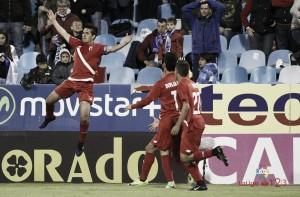 El Sevilla Atlético derrumba la Romareda
