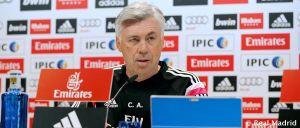 """Ancelotti: """"Necesitamos a la afición para levantar la eliminatoria"""""""