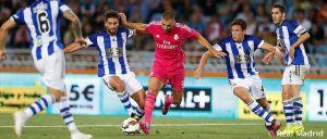Real Sociedad - Real Madrid: puntuaciones del Real Madrid, jornada 2