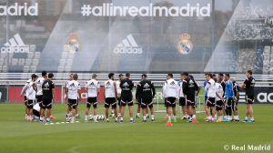 Pepe no se ejercita en la última sesión antes de viajar a Coruña