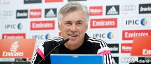 """Ancelotti: """"Estamos contentos de lo que estamos haciendo"""""""