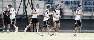 Cristiano Ronaldo y los internacionales, novedades en el entrenamiento de hoy