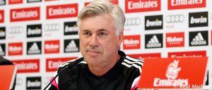 """Ancelotti: """"El principio del partido y la intensidad con la que salgamos será muy importante"""""""