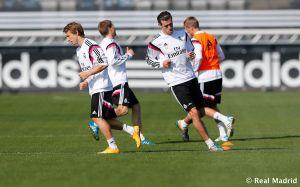 El Real Madrid vuelve a los entrenamientos