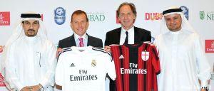 Real Madrid y Milan jugarán un amistoso en Dubai