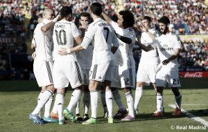 Levante UD - Real Madrid: Puntuaciones del Real Madrid en la jornada 8