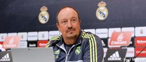 """Benítez: """"Hay una campaña contra el Real Madrid y su entrenador"""""""