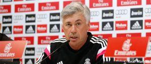 """Carlo Ancelotti: """"El Atlético no es un equipo violento. Esto es fútbol"""""""