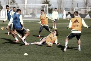 El Real Madrid completó la tercera sesión semanal sin Pepe ni Bale