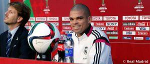 """Pepe: """"Debemos hacer nuestro partido con mucho respeto y seriedad"""""""