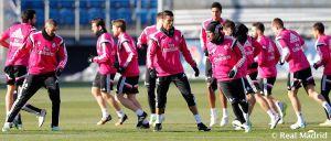 El Real Madrid realiza su primer entrenamiento del año