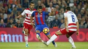 Saunier debuta con el Granada CF