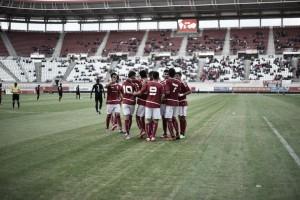 Resultado Real Murcia 3-0 Jumilla: con el viento a favor