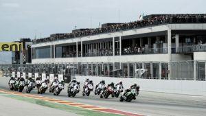 Clasificación de Superbikes del GP de Aragón en vivo y en directo online