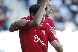 Scepovic hace historia con el Sporting