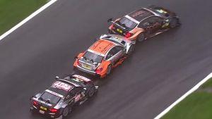 DTM, guerra Audi-Mercedes: Scheider butta fuori Wehrlein