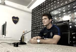 """Guillermo Barros Schelotto: """"Será un partido de ida y vuelta"""""""