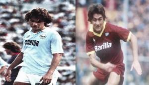 Lazio - Roma: diez futbolistas que militaron en ambos equipos