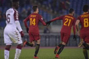 Roma, Di Francesco verso il recupero con la Sampdoria: De Rossi verso la tribuna, Schick per Dzeko