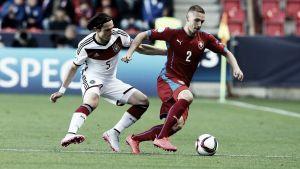 Czech Republic under-21 1-1 Germany under-21: Krejčí cancels out Schulz as hosts bow out