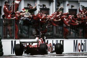 El día que Schumacher igualó un récord de otra dimensión