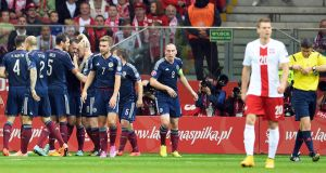 Poland 2 - 2 Scotland: Back and forth contest in Warsaw ends in draw